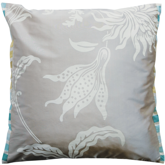 Beautiful Silk Cushion Julie London Design Sydney back