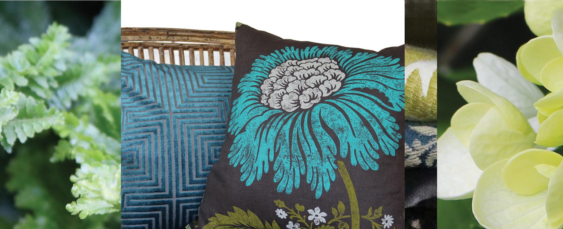 Velvet Silk cushions - Julie London Design