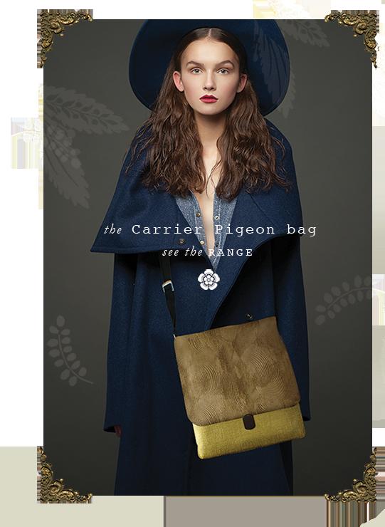 designer courier handbag velvet luxury Sydney