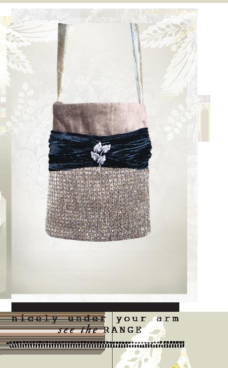Luxury Velvet Tote Bag Sydney