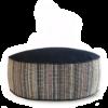 Small Dog Bed - Denim Dot Strip main 2 - Julie London Design