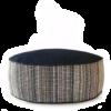High Dog BedSmall Denim Dot Strip main - Julie London Design
