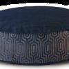 Denim Dog Bed Medium Velvet front - Julie London Design