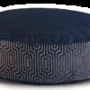Denim Dog Bed Medium Velvet back - Julie London Design