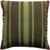 Green Silk Cushion Julie London Design Sydney back