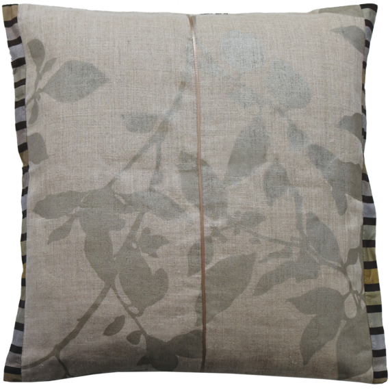 Unique Linen Cushion Julie London Design Sydney back