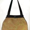 Dragonfly Medium Tote Bag Olive Fern front - julie London Design