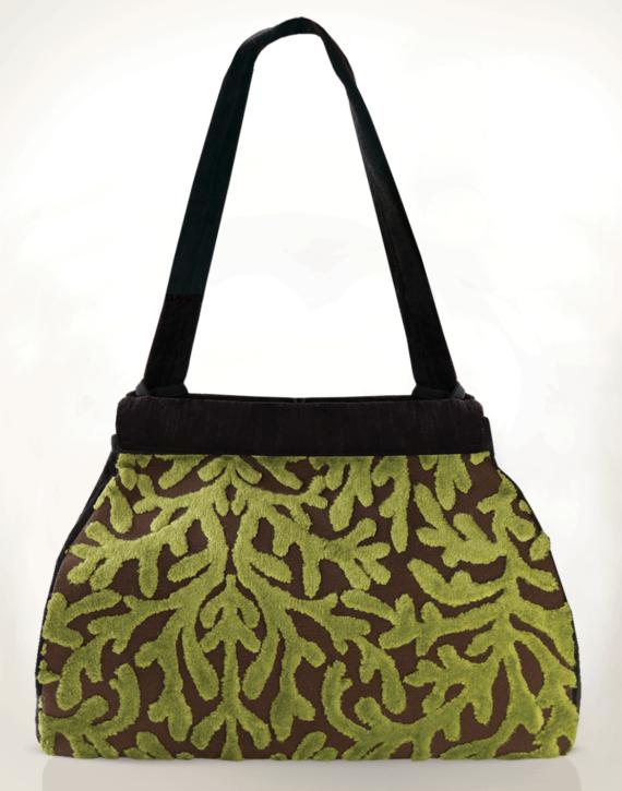 Dragonfly Medium Tote Bag Velvet Coral back - julie london Design