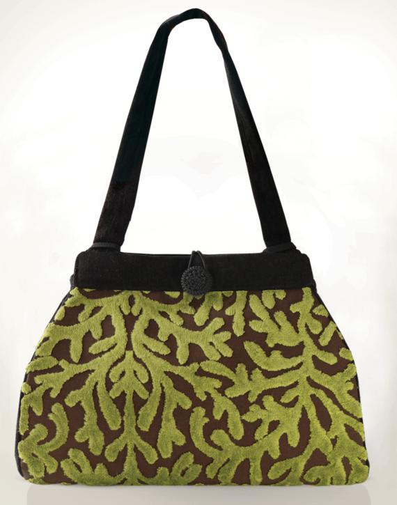 Dragonfly Medium Tote Bag Velvet Coral front – julie london Design