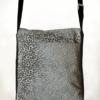 Courier PigeonSatchel Bag Grey Spot back - Julie London Design