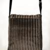 Courier PigeonSatchel BagFaux Fur back - Julie London Design