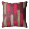 Retro 50's Style Brush Pattern Cushion back - Julie london