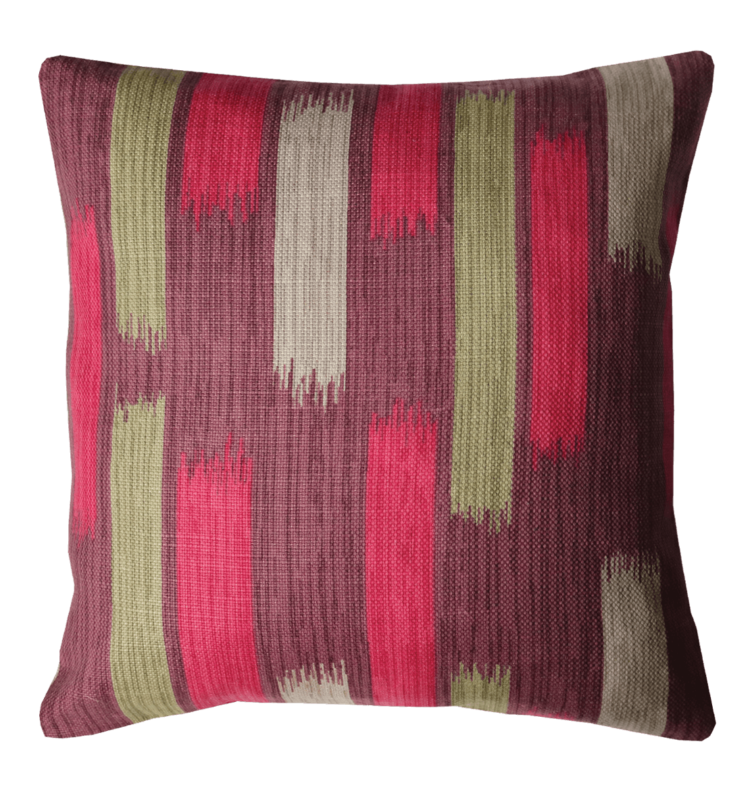 Retro 50's Style Brush Pattern Cushion front - Julie london