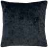 Gunmetal Grey Plush Velvet Cushion back - julie London
