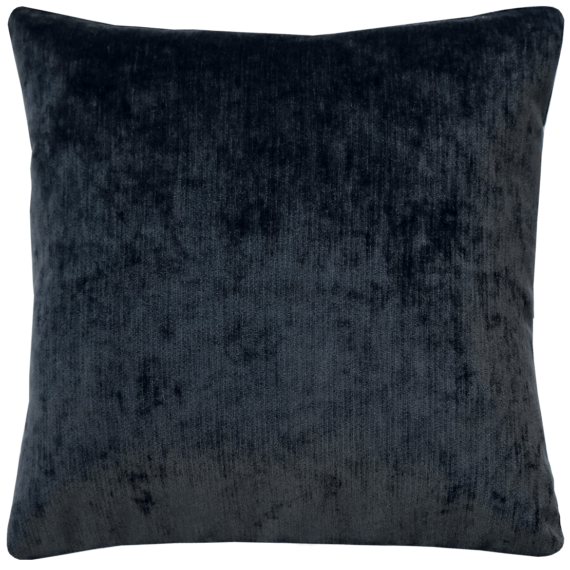 Gunmetal Grey Plush Velvet Cushion back - julie London
