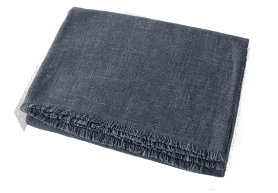 Dog Blanket Slate front – Julie London Design