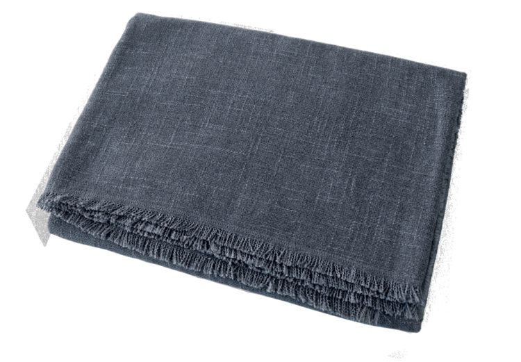 Dog Blanket Slate front - Julie London Design