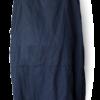Dark Navy Linen Blend Maxi Dress - Julie London back