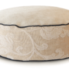 High Dog Bed Small Velvet Cream. - Julie London Design Australia