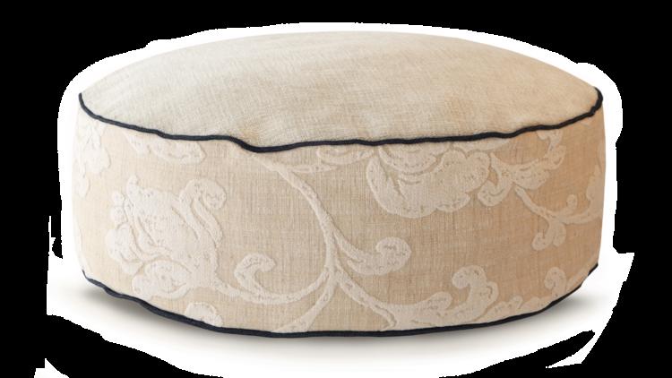 High Dog BedSmall Velvet Cream. - Julie London Design Australia