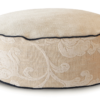 High Dog Bed Small Velvet Cream - Julie London Design Australia