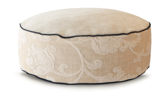 High Dog Bed Small Velvet Cream – Julie London Design Australia