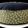 Small Dog Bed- Denim Top Velvet Leaf - Julie London Design