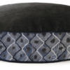 Velvet Dog Bed Large Blue Diamond - Julie London