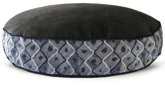 Velvet Dog Bed Large Blue Diamond – Julie London