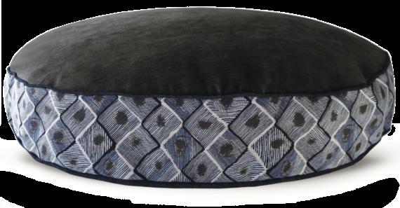 Velvet Dog Bed Large Blue Diamond – Julie London