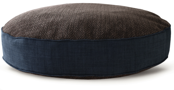 Hard Wearing Dog Bed Large Navy Brown – Julie London