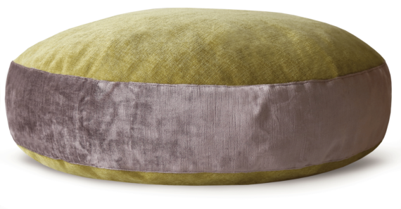 Luxury Velvet Dog Bed Large Mauve Lime – julie London