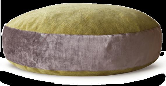 Luxury Velvet Dog Bed Large Mauve Lime – julie London