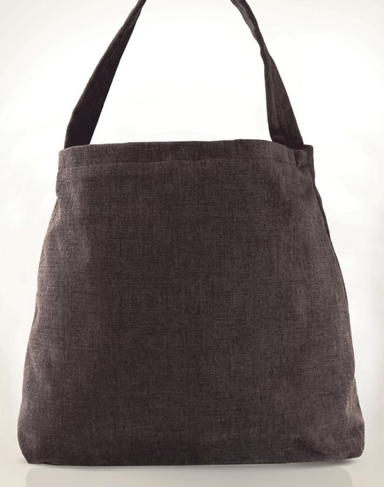 Mother Hen Large Tote Bag Gold Brown back - Julie London Design