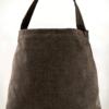 Mother Hen Large Tote Bag Black Gold back - Julie london design