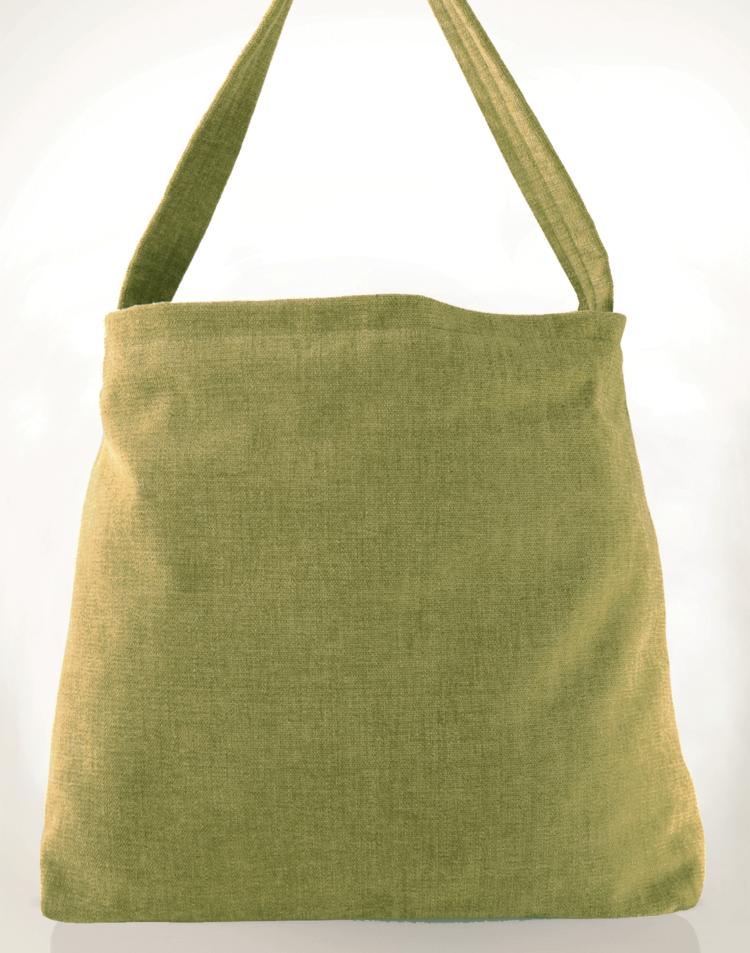 Mother Hen Large Tote Bag Cream Tulip back - Julie London Design